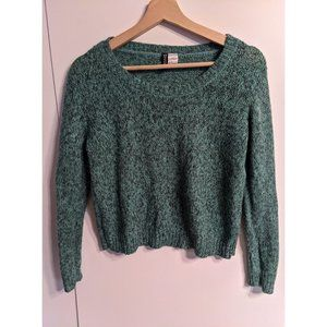 H&M | Green knit sweater